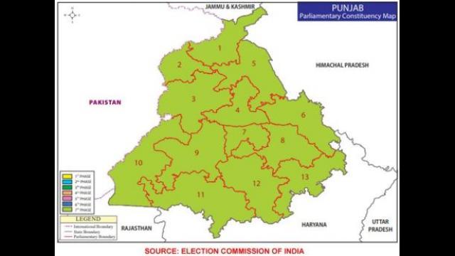 Lok Sabha Poll Result 2019 Punjab LIVE: ਜਾਣੋ, ਪੰਜਾਬ 'ਚ ਕਿਹੜੇ ਹਲਕੇ ਦੇ ਵੋਟਰ ਰਹੇ ਵੱਧ ਉਤਸ਼ਾਹਿਤ